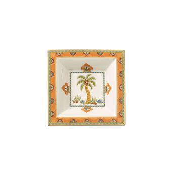 Samarkand Mandarin coupe carrée 14x14cm