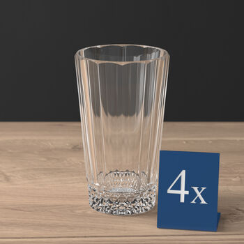 Opéra, ensemble de 4 verres à long drink