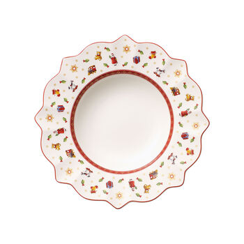 Toy's Delight assiette creuse blanche