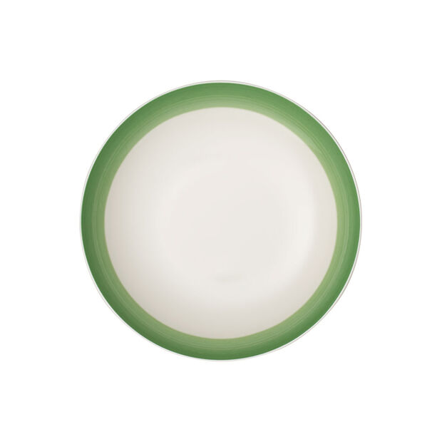 Colourful Life Green Apple coupe plate, , large