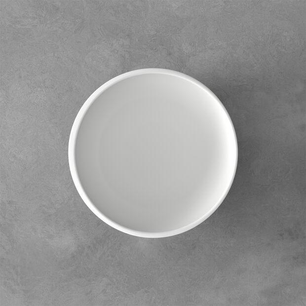 NewMoon petit plat creux, 1l, blanc, , large