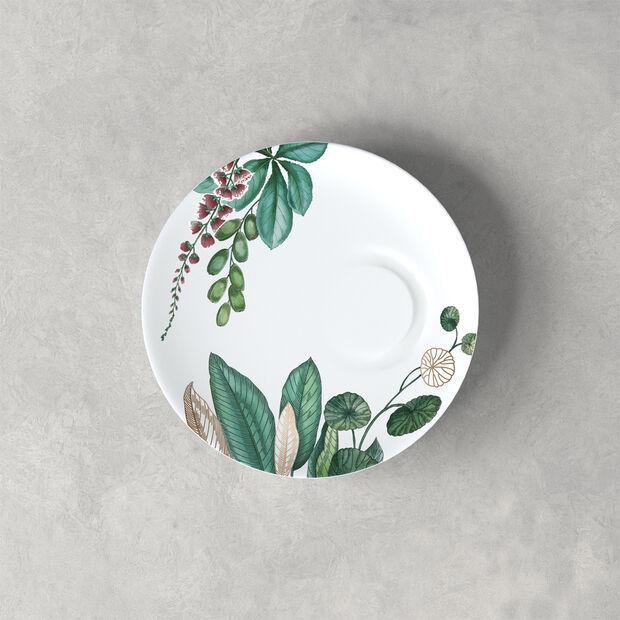 Avarua sous-tasse à expresso, 14,5cm, blanche/multicolore, , large