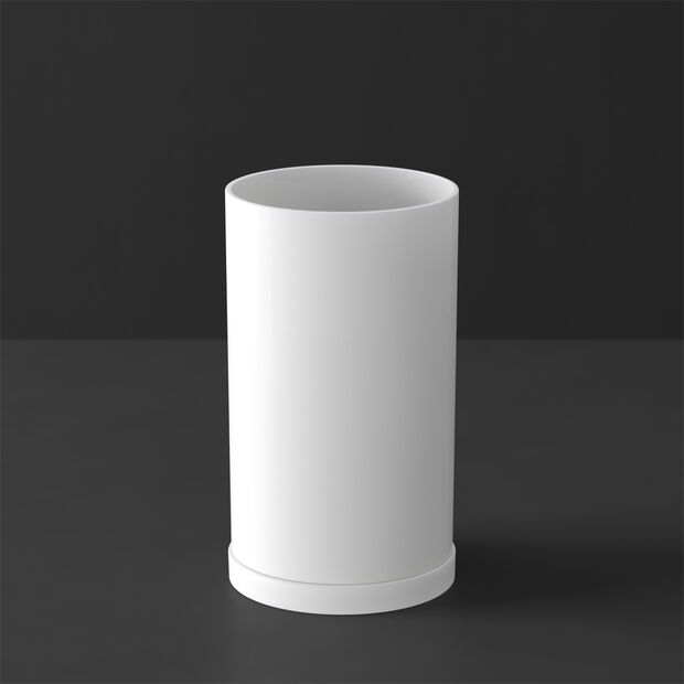 MetroChic blanc Gifts Bougeoir 7,5x7,5x13cm, , large