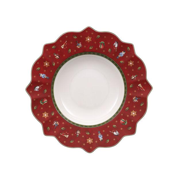 Toy's Delight Assiette creuse rouge 26cm, , large