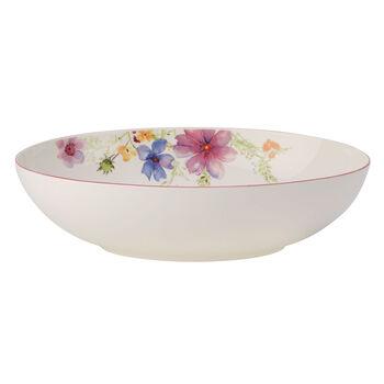 Mariefleur Basic plat creux à servir ovale 32cm