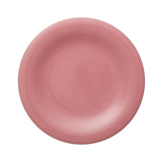 Color Loop Rose assiette plate 28x28x3cm, , large