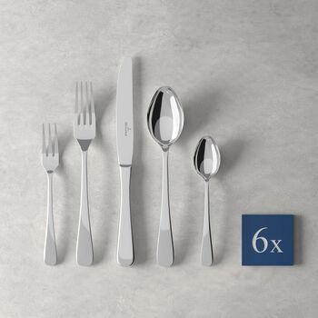 Leandra couverts de table, 30pièces, pour 6personnes