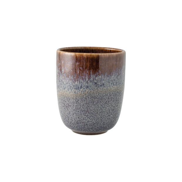 Lave Beige mug sans anse, beige, 9x9x10,5cm, 400ml, , large