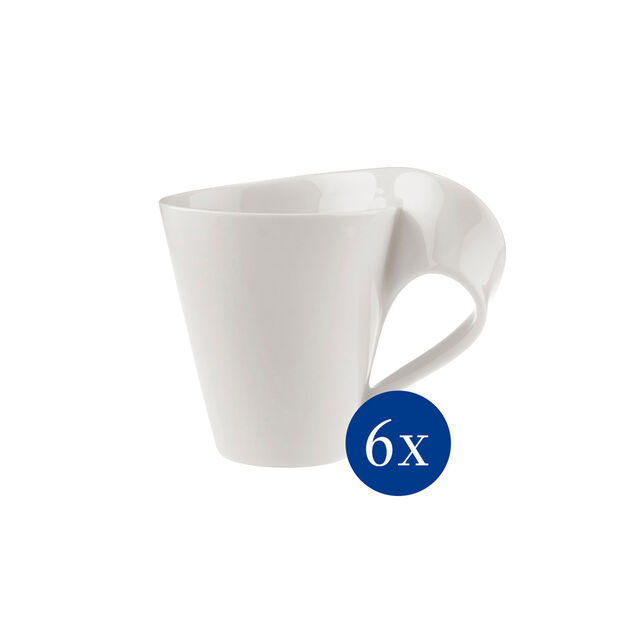 NewWave Caffè mug à café, 300ml, 6pièces, , large