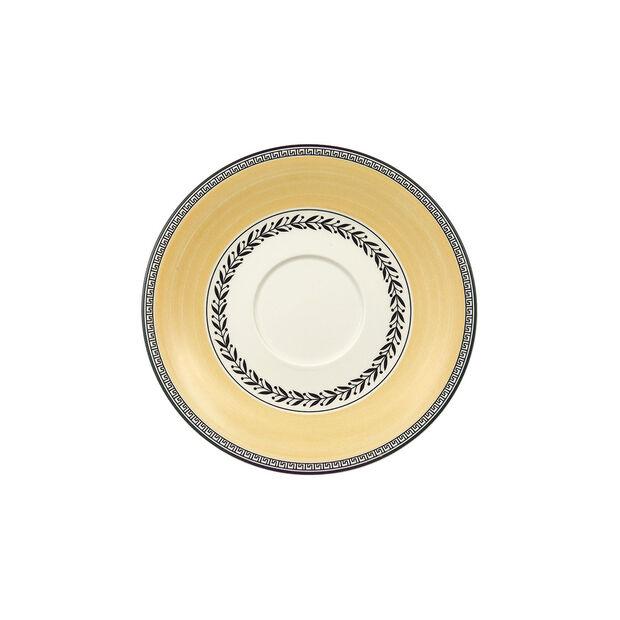 Audun Ferme Soucoupe tasse petit-déjeuner/bouillon 18cm, , large