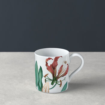 Avarua tasse à thé, 210ml, blanche/multicolore