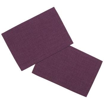 Textil Uni TREND Set de table violet S2 35x50cm