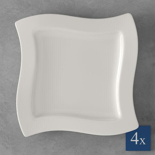 NewWave assiette plate, 4pièces, , large