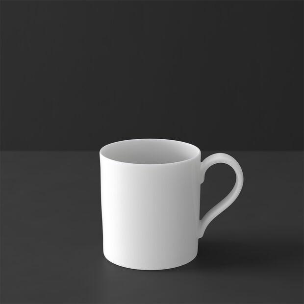 MetroChic blanc tasse à café, 210ml, blanche, , large