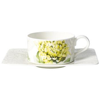 Quinsai Garden Tasse à thé avec soucoupe 2pcs