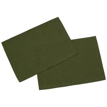 Textil Uni TREND Set d/table verde fon.S2 35x50cm