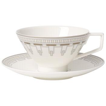 La Classica Contura Tasse à thé avec soucoupe 2pcs