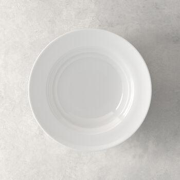 NEO White assiette creuse 23x23x6cm