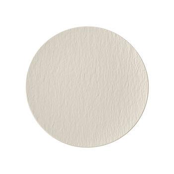 Manufacture Rock blanc Assiette universelle coupe 25x25x2,8cm