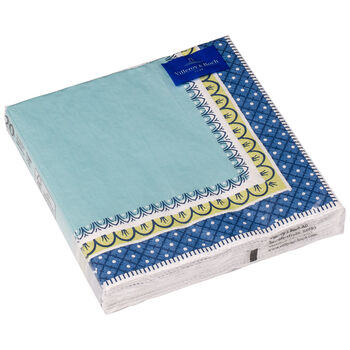 Serviettes en papier Casale blu Serviette papier, 20pièces, 33x33cm
