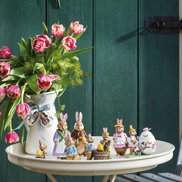 Bunny Tales figurine peinture sur œufs, multicolore, , large