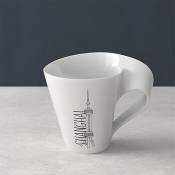 Modern Cities mug à café, Shanghai, 300ml