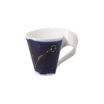 NewWave Stars mug poissons, 300ml, bleu/blanc
