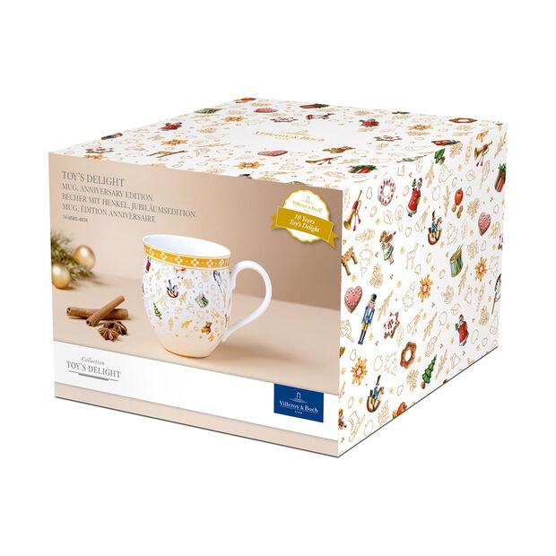 Toy's Delight mug à anse, édition anniversaire, multicolore/or/blanc, 340ml, , large