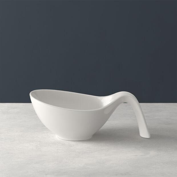 Flow assiette calotte avec anse, , large