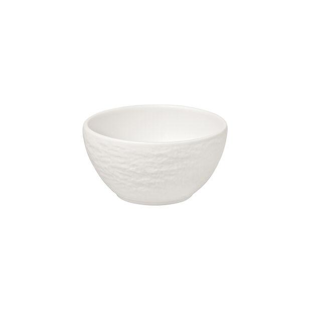 Manufacture Rock Blanc coupelle à dips, blanche, 8x8x4cm, , large