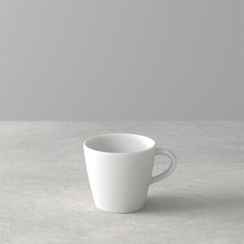 Manufacture Rock Blanc tasse à expresso, blanche, 8,5x6,5x6cm