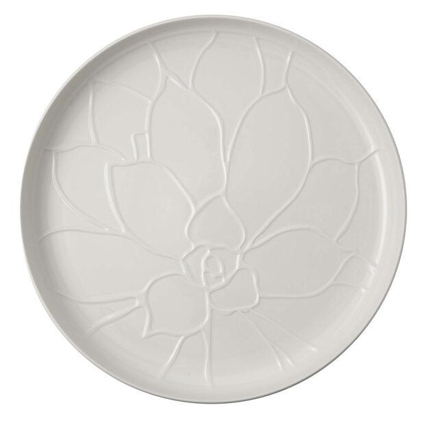 it's my home plateau Socculent, 34cm, blanc, , large