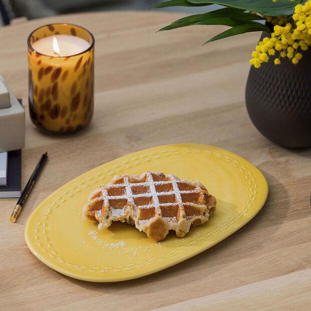 it's my moment assiette Honey 29,5x19x1,5cm, , large
