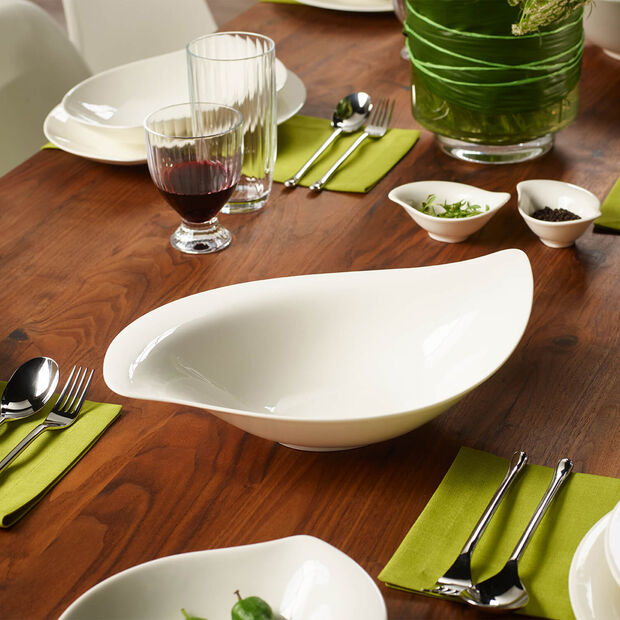 New Cottage Special Serve Salad saladier 36x24cm, , large
