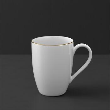 Anmut Gold mug à café, blanc/or