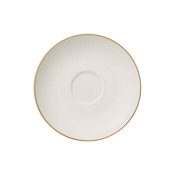 Anmut Gold sous-tasse à thé, diamètre 15cm, blanc/or