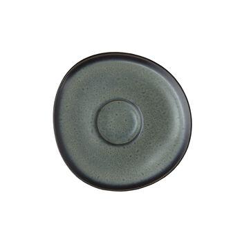 Lave gris sous-tasse pour tasse à café, 15,5cm