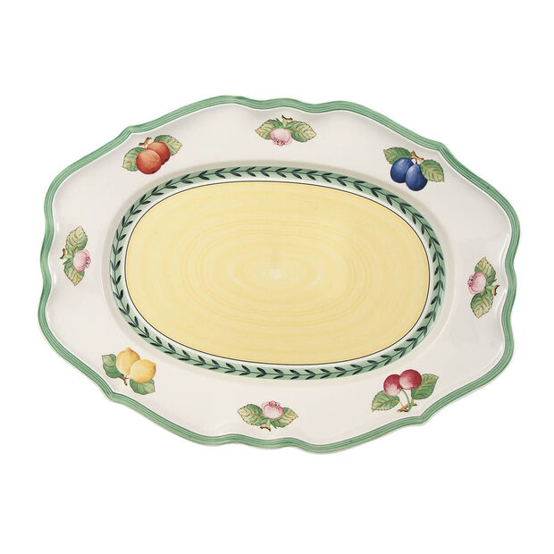 French Garden Fleurence plat ovale 44cm, , large