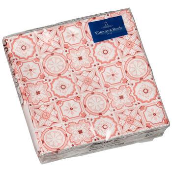 Serviettes en papier Rose Caro, 20pièces, 25x25cm