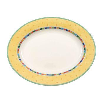 Twist Alea Limone plat ovale 41cm