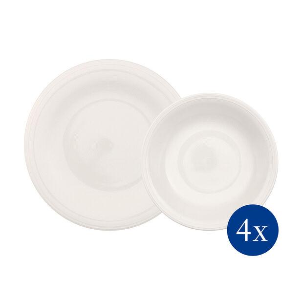 Color Loop Natural service de table, naturel, 8pièces, , large