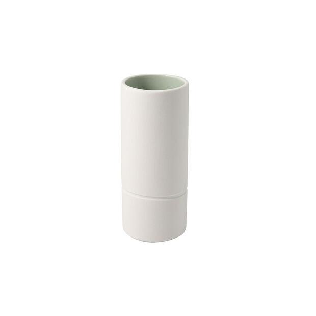 it's my home vase moyen, 6x15cm, vert/blanc, , large