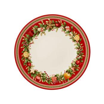 Winter Bakery Delight assiette plate