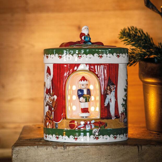 Christmas Toys Paquet-cadeau grand rond, 2021 17x17x22 cm, , large