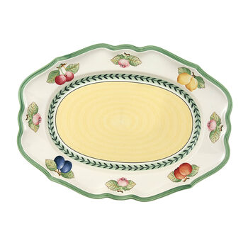 French Garden Fleurence plat ovale 37 cm