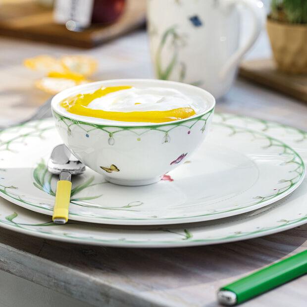Colourful Spring petit plat creux, blanc/vert, , large