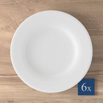 Royal assiette plate, 6pièces