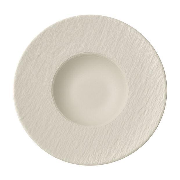Manufacture Rock blanc Assiette à pâtes 28x28x5cm, , large