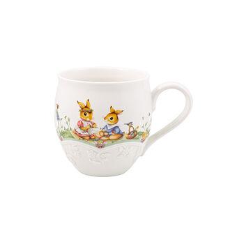 Spring Fantasy mug, champ de fleurs, 530ml