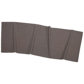 Textil Uni TREND Chemin de table graphite 50x140cm